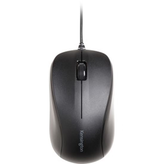 Picture of Kensington Wired USB Mouse for Life - Black