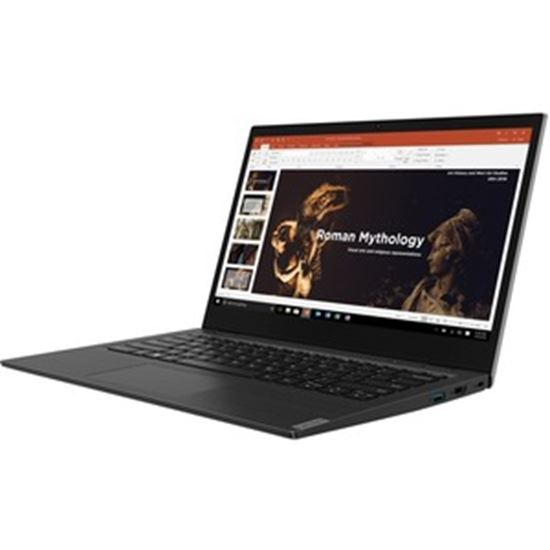 """Picture of Lenovo 14w 81MQ00A9US 14"""" Touchscreen Notebook - Full HD - 1920 x 1080 - AMD A-Series A6-9220C Dual-core (2 Core) 1.80 GHz - 4 GB RAM - 128 GB SSD - Black"""
