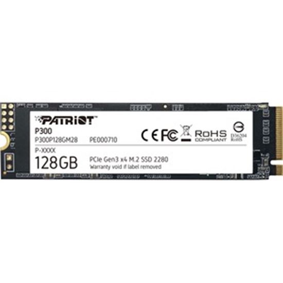 Picture of Patriot Memory P300 128 GB Solid State Drive - M.2 2280 Internal - PCI Express NVMe (PCI Express NVMe 3.0 x4)