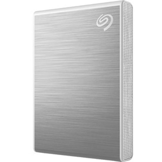Picture of Seagate One Touch STKG1000401 1000 GB Solid State Drive - External - Silver