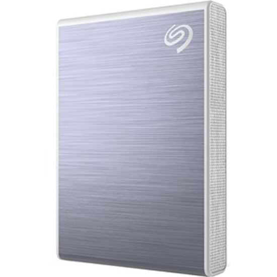 Picture of Seagate One Touch STKG1000402 1000 GB Solid State Drive - External - Blue