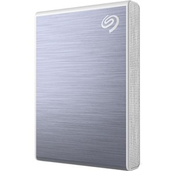Picture of Seagate One Touch STKG500402 500 GB Solid State Drive - External - Blue