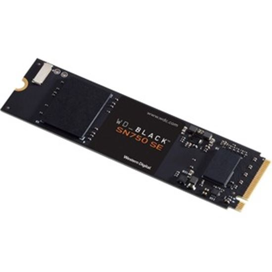 Picture of WD Black SN750 WDS500G1B0E 500 GB Solid State Drive - M.2 2280 Internal - PCI Express NVMe (PCI Express NVMe 4.0)