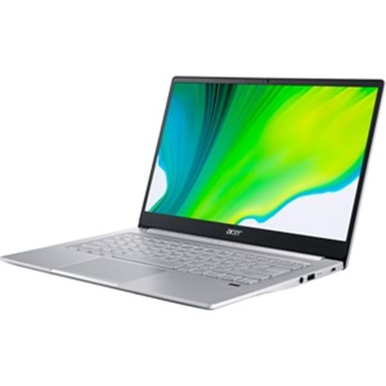 """Picture of Acer Swift 3 SF314-59 SF314-59-73UP 14"""" Notebook - Full HD - 1920 x 1080 - Intel Core i7 i7-1165G7 Quad-core (4 Core) 2.80 GHz - 8 GB RAM - 512 GB SSD - Pure Silver"""