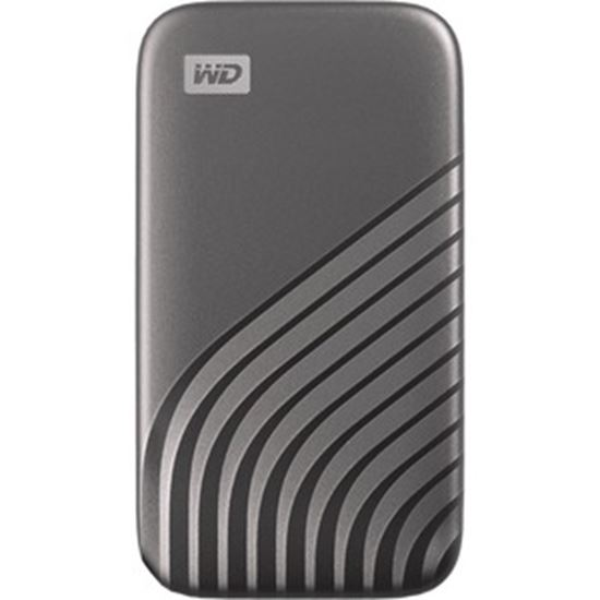 Picture of WD My Passport WDBAGF0010BGY-WESN 1 TB Portable Solid State Drive - External - Space Gray
