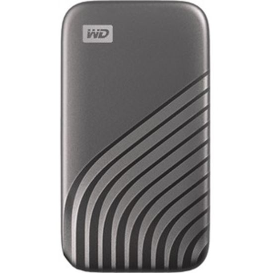 Picture of WD My Passport WDBAGF0020BGY-WESN 2 TB Portable Solid State Drive - External - Space Gray