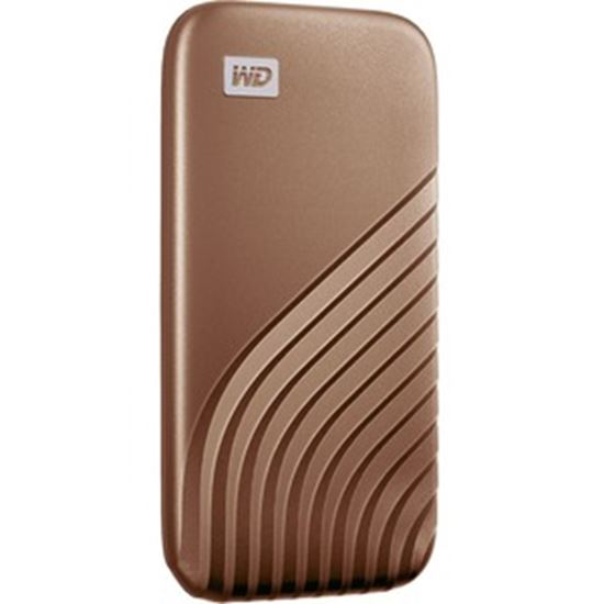 Picture of SanDisk My Passport WDBAGF0020BGD-WESN 2 TB Portable Solid State Drive - External - Gold