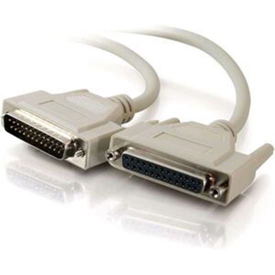 Picture of C2G 15ft DB25 M/F Extension Cable