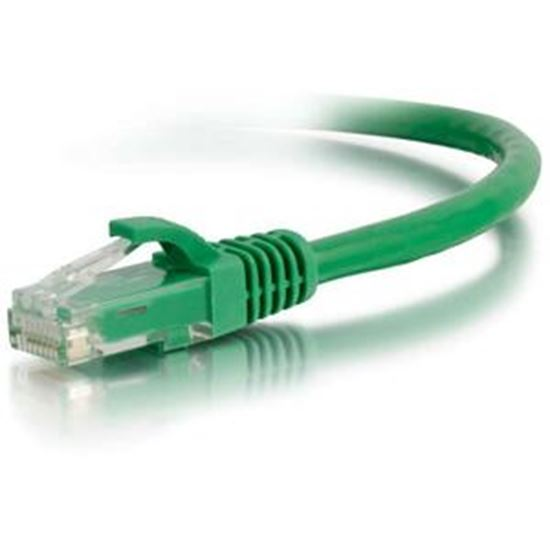 Picture of C2G-50ft Cat5e Snagless Unshielded (UTP) Network Patch Cable - Green