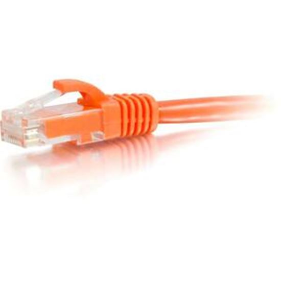 Picture of C2G-50ft Cat5e Snagless Unshielded (UTP) Network Patch Cable - Orange