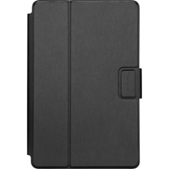 """Picture of Targus SafeFit THZ785GL Carrying Case (Folio) for 10.5"""" Samsung, Acer, Asus, Amazon, HP, Dell, Lenovo, Google, Huawei, Apple Tablet - Black"""