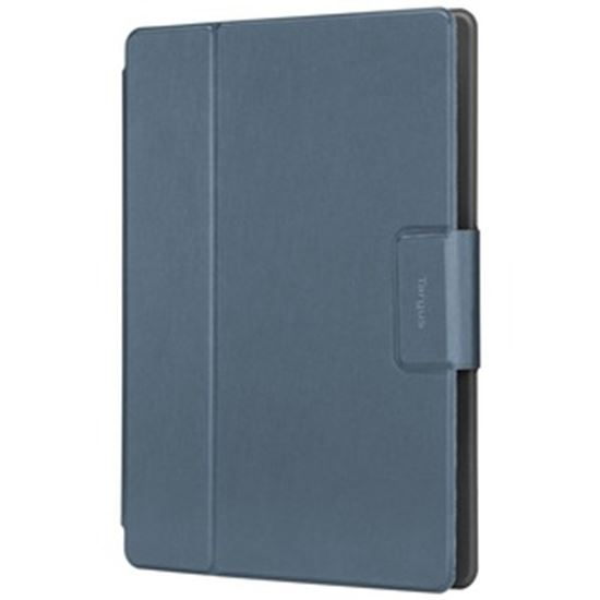 """Picture of Targus SafeFit THZ78513GL Carrying Case (Folio) for 9"""" to 11"""" Tablet - Blue"""