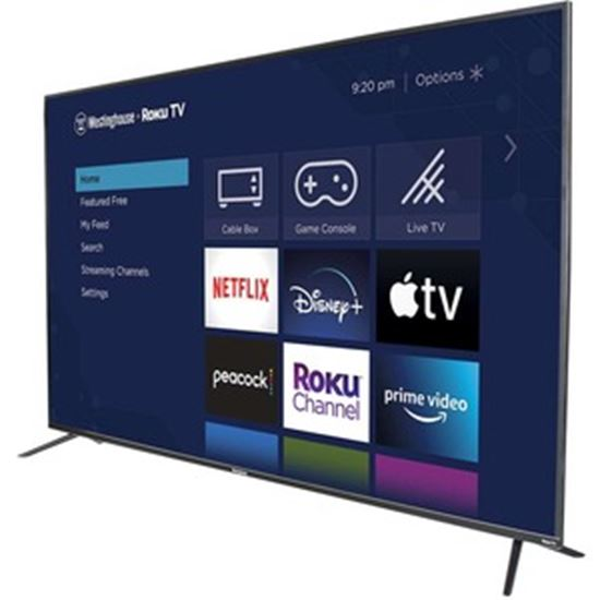 """Picture of Westinghouse WR75UX4200 75"""" Smart LED-LCD TV - 4K UHDTV - Black"""