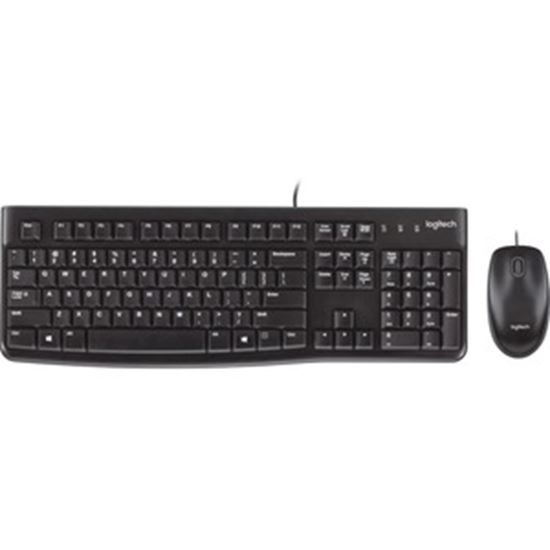Picture of Logitech MK120 Corded Keyboard And Mouse Combo