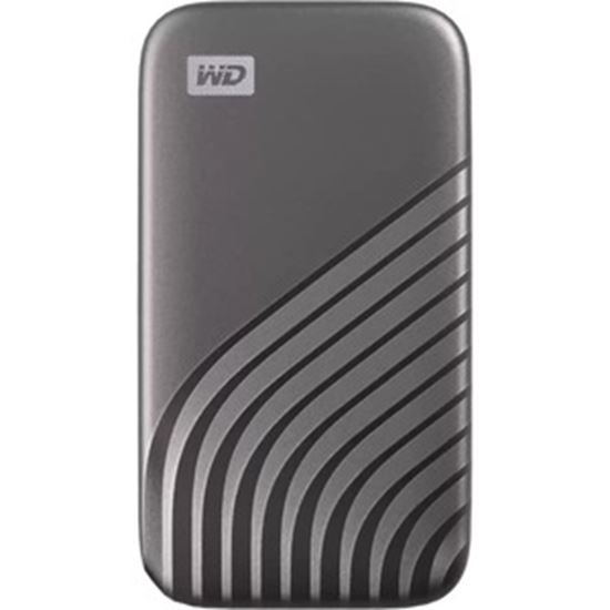 Picture of WD My Passport WDBAGF0040BGY-WESN 4 TB Portable Solid State Drive - External - Gray