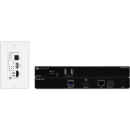 Picture of Atlona Wallplate HDBaseT TX/RX for HDMI with USB