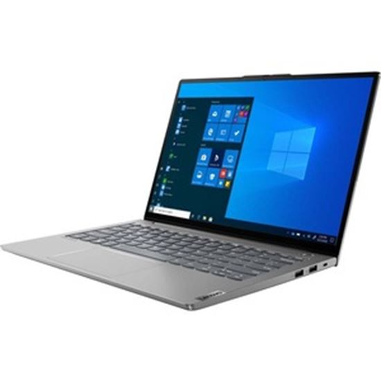 """Picture of Lenovo ThinkBook 13s G3 ACN 20YA0011US 13.3"""" Touchscreen Notebook - QHD - 2560 x 1600 - AMD 5600U Hexa-core (6 Core) 2.30 GHz - 8 GB RAM - 256 GB SSD - Mineral Gray"""
