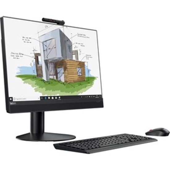 Picture of Lenovo ThinkCentre M920z 10S60024US All-in-One Computer - Intel Core i7 8th Gen i7-8700 3.20 GHz - 8 GB RAM DDR4 SDRAM - 512 GB SSD - Desktop - Business Black