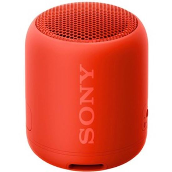 Picture of eReplacements SRS-XB12 Portable Bluetooth Speaker System - Red