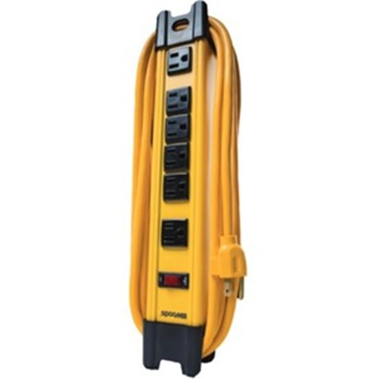 Picture of Southwire 6-Outlet Metal Power Strip