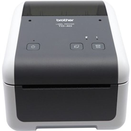 Picture of Brother TD-4410D Desktop Direct Thermal Printer - Monochrome - Label Print - USB - Serial