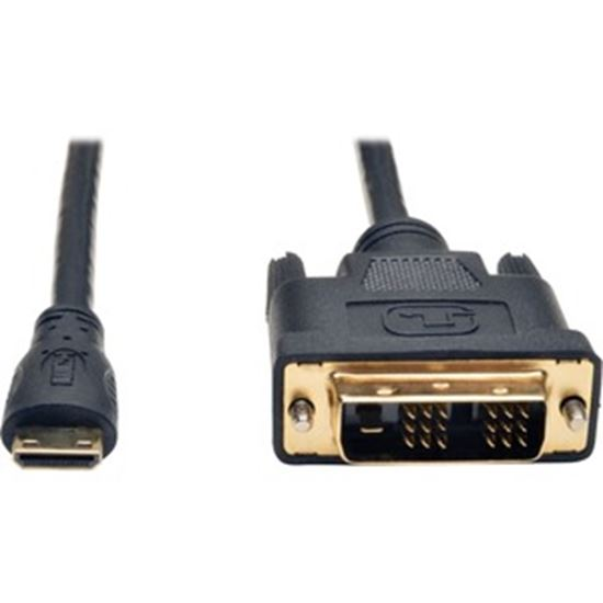 Picture of Tripp Lite Mini HDMI to DVI Digital Monitor Adapter Cable M/M 6' 6ft