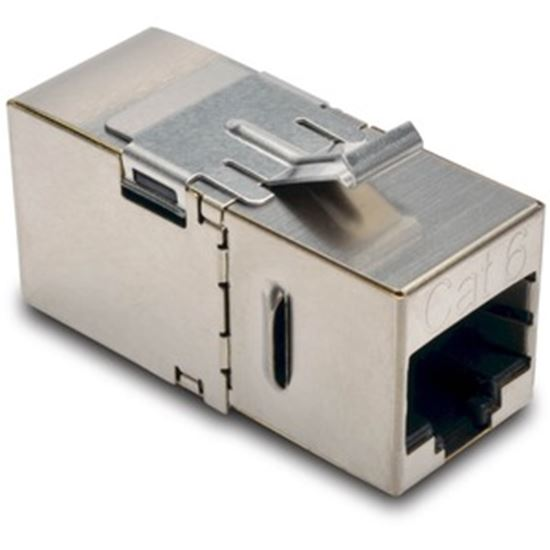 Picture of Tripp Lite Cat6 Straight Through Modular Shielded In Line Coupler RJ45 F/F