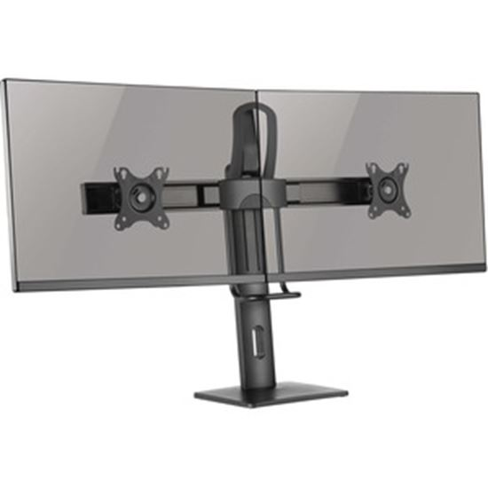 Picture of Tripp Lite Safe-IT DDVD1727AM Desk Mount for Monitor, HDTV, Flat Panel Display, Curved Screen Display - Black