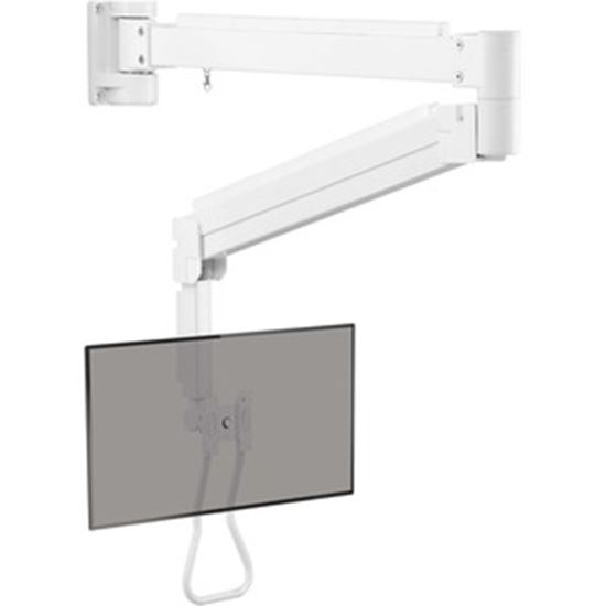 Picture of Tripp Lite Safe-IT DWMLARM1732AM Mounting Arm for TV, Monitor, HDTV, Notebook, Flat Panel Display, Interactive Whiteboard, Digital Signage Display - White