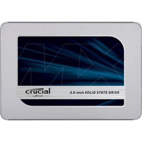 """Picture of Crucial MX500 4 TB Solid State Drive - 2.5"""" Internal - SATA (SATA/600)"""