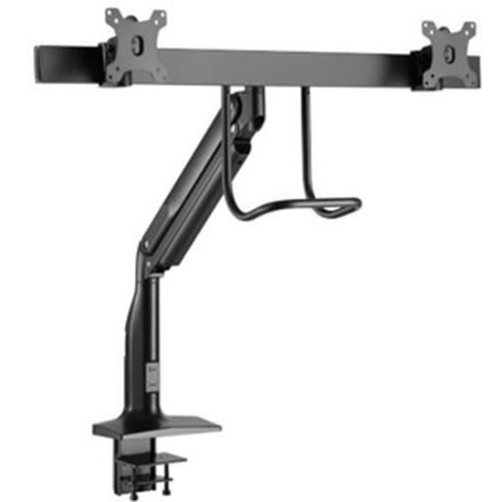 Picture of Tripp Lite Safe-IT Clamp Mount for Monitor, Interactive Display, HDTV - Black