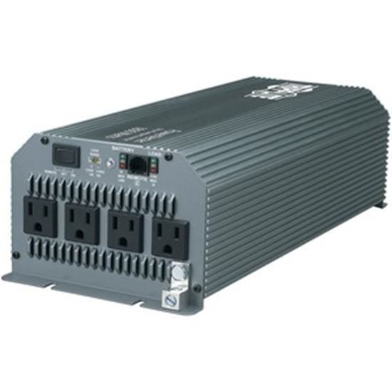 Picture of Tripp Lite Compact Inverter 1800W 12V DC to 120V AC 4 Outlets 5-15R