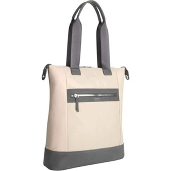 """Picture of Targus Newport TBO00206GL Carrying Case (Tote) for 15"""" Notebook - Tan"""
